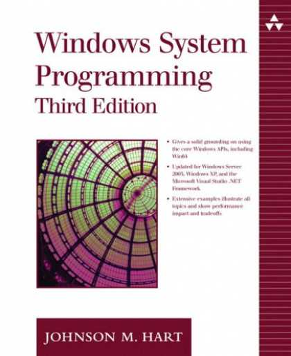 Programming Books - Windows System Programming (3rd Edition) (Addison-Wesley Microsoft Technology Se