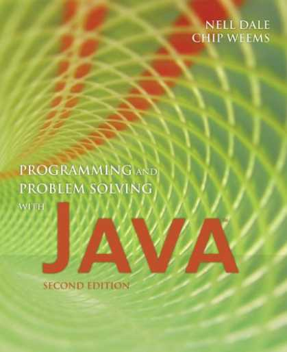 Programming Books - Programming and Problem Solving With Java