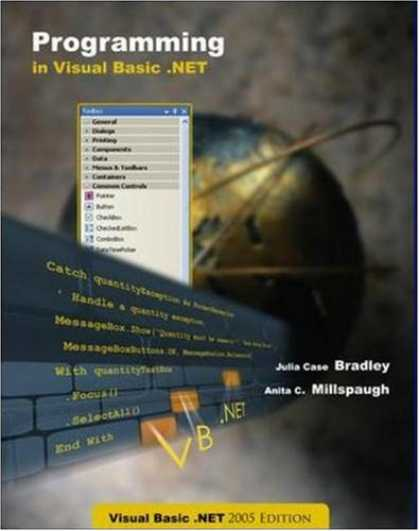 Programming Books - Programming VB.Net 2005 + CD + 180 day trial software