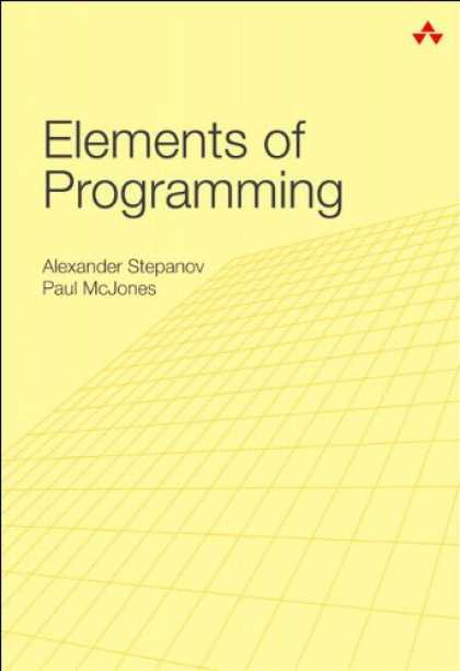 Programming Books - Elements of Programming