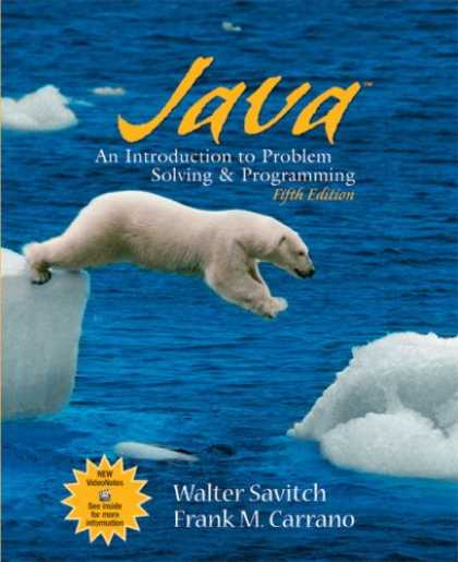 Programming Books - Java: Introduction to Problem Solving and Programming (5th Edition)