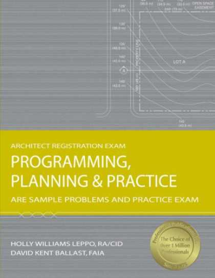 Programming Books - Programming, Planning & Practice: ARE Sample Problems and Practice Exam (Archite