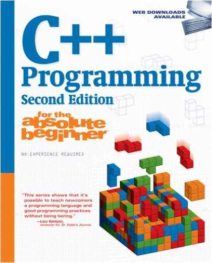 Programming Books - C++ Programming for the Absolute Beginner