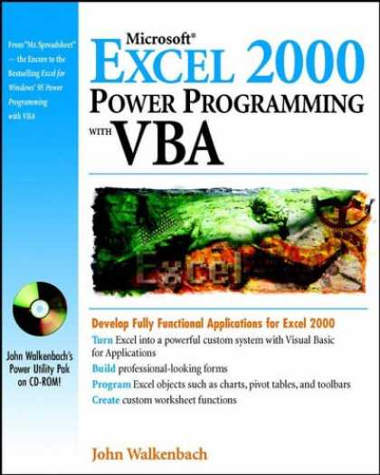 Programming Books - Microsoft® Excel 2000 Power Programming with VBA