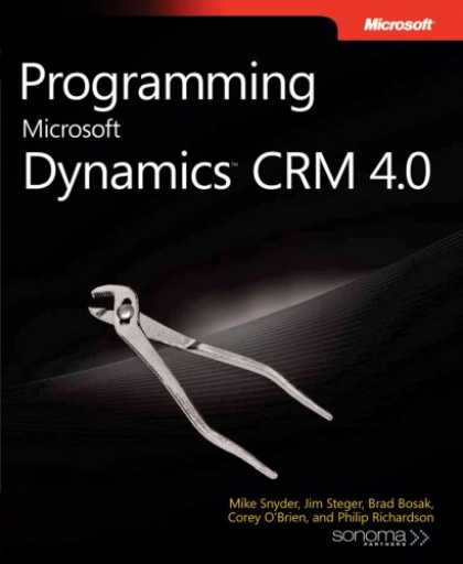 Programming Books - Programming Microsoft Dynamics CRM 4.0 (Pro-Developer)