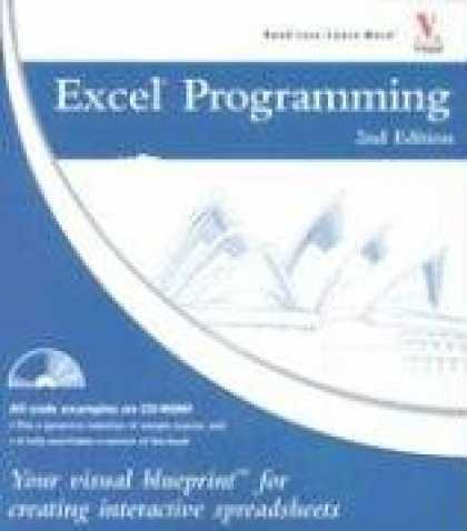 Programming Books - Excel Programming: Your visual blueprint for creating interactive spreadsheets