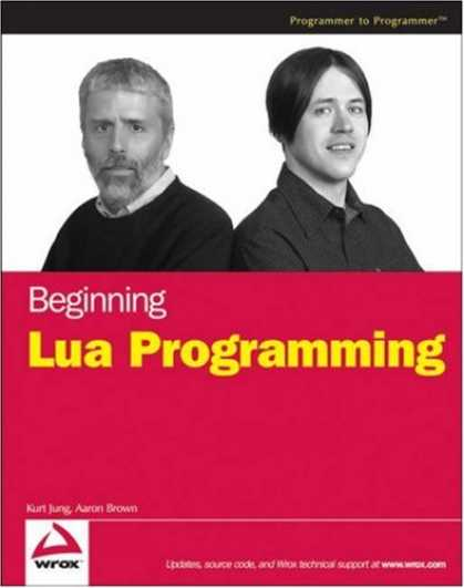 Programming Books - Beginning Lua Programming (Programmer to Programmer)