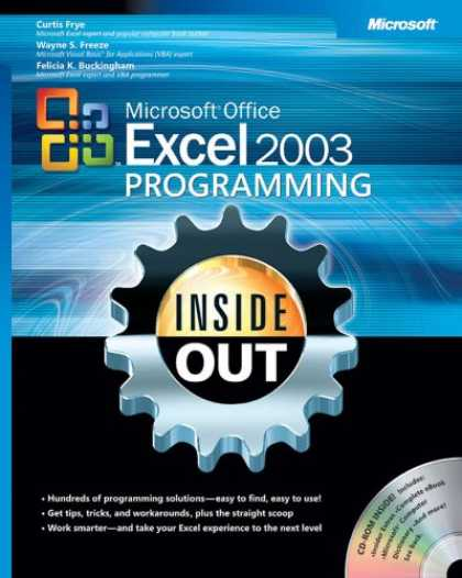 Programming Books - Microsoft Office Excel 2003 Programming Inside Out