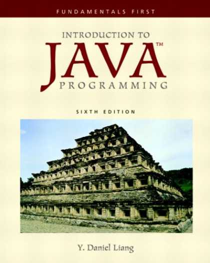 Programming Books - Introduction to Java Programming: Fundamentals First (6th Edition) (GOAL Series)