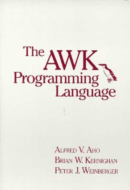 Programming Books - The AWK Programming Language