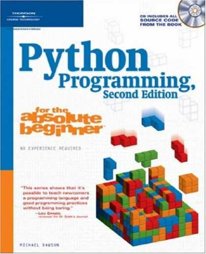 Programming Books - Python Programming for the Absolute Beginner