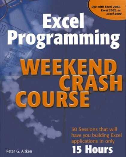 Programming Books - Excel Programming Weekend Crash Course