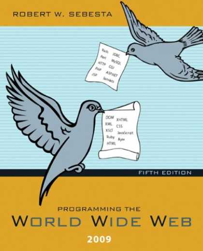 Programming Books - Programming the World Wide Web 2009 (5th Edition)