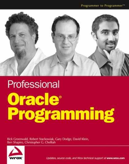 Programming Books - Professional Oracle Programming (Programmer to Programmer)