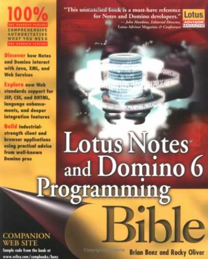 Programming Books - Lotus Notes and Domino 6 Programming Bible