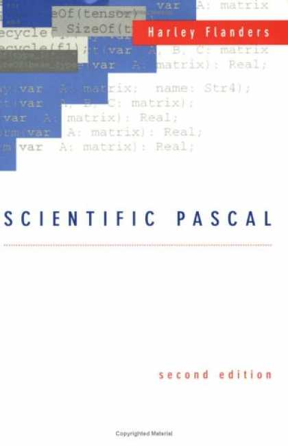 Programming Books - Scientific Programming in Pascal