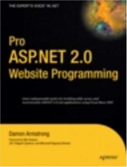 Programming Books - Pro ASP.NET 2.0 Website Programming