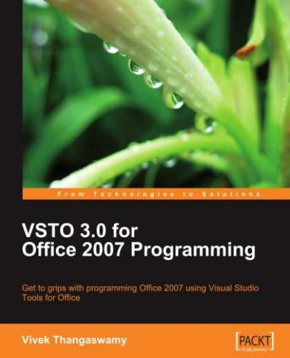 Programming Books - VSTO 3.0 for Office 2007 Programming