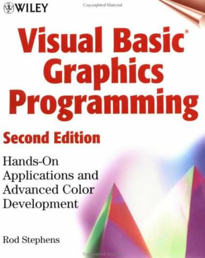 Programming Books - Visual Basic(r) Graphics Programming: Hands-On Applications and Advanced Color D