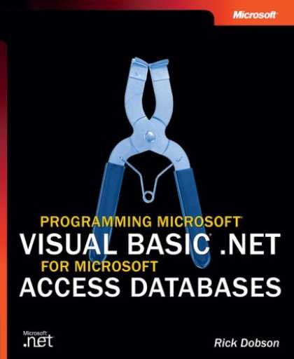 Programming Books - Programming Microsoft® Visual Basic® .NET for Microsoft Access Databases