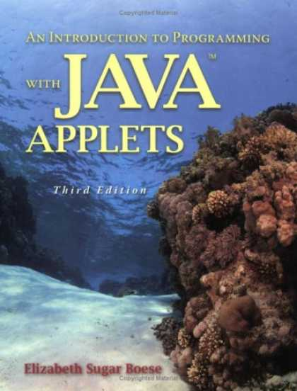 Programming Books - An Introduction to Programming with Java Applets