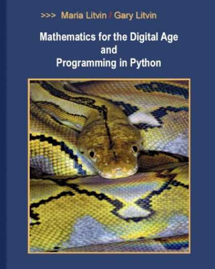 Programming Books - Mathematics for the Digital Age and Programming in Python