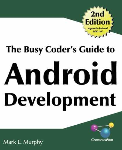 Programming Books - The Busy Coder's Guide to Android Development
