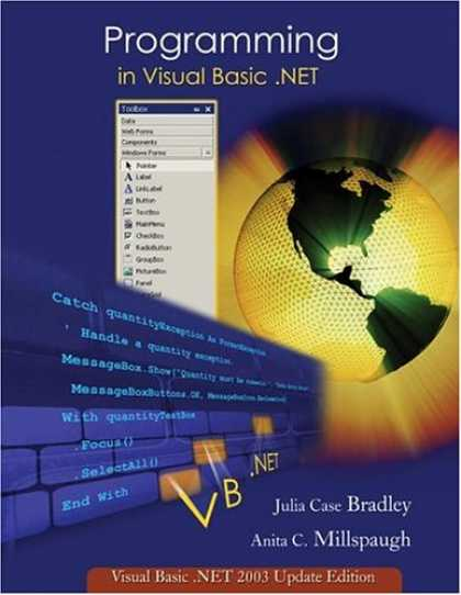 Programming Books - Programming in Visual Basic. NET: Update Edition for VB. NET 2003 w/ 5-CD VB. Ne