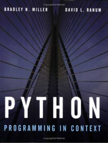 Programming Books - Python Programming in Context