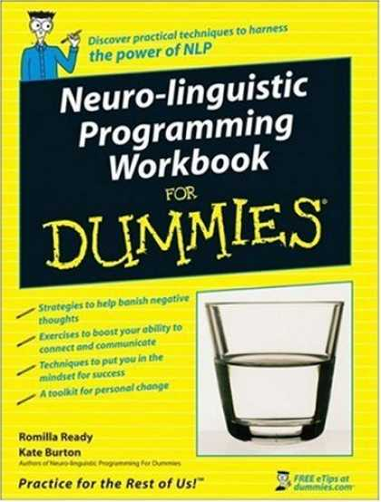 Programming Books - Neuro-Linguistic Programming Workbook For Dummies (For Dummies (Psychology & Sel