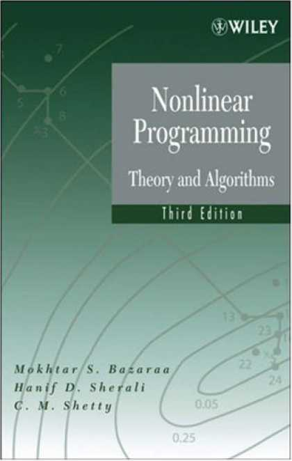 Programming Books - Nonlinear Programming: Theory and Algorithms