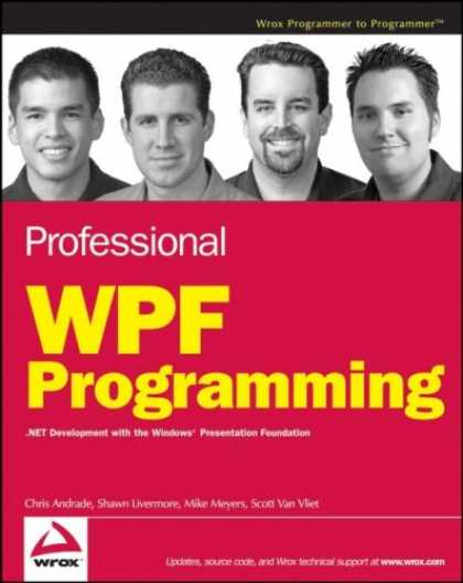Programming Books - Professional WPF Programming: .NET Development with the Windows Presentation Fou
