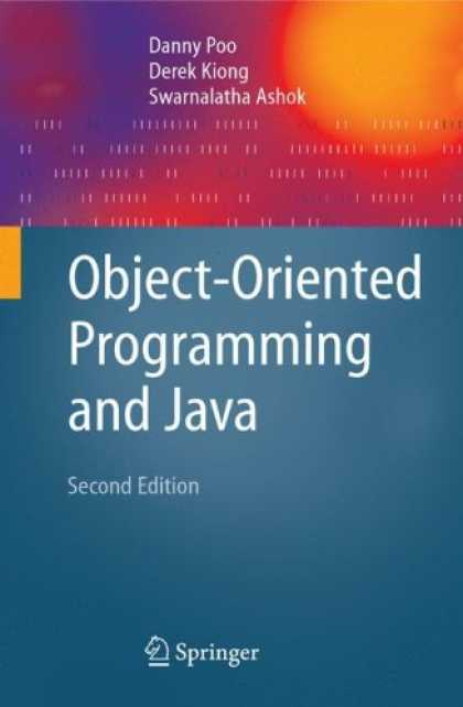 Programming Books - Object-Oriented Programming and Java