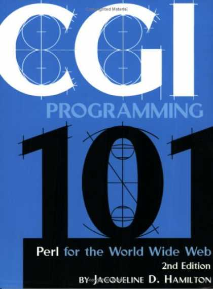 Programming Books - CGI Programming 101: Programming Perl for the World Wide Web, Second Edition