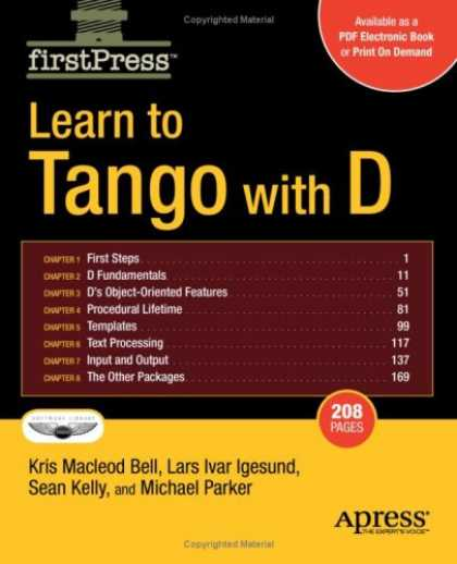 Programming Books - Learn to Tango with D