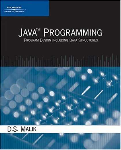 Programming Books - Java Programming: Program Design Including Data Structures