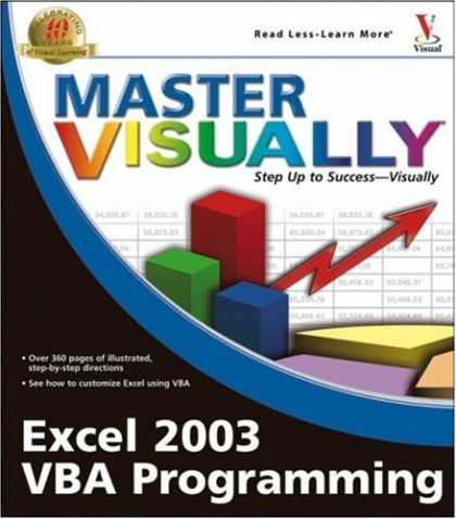 Programming Books - Master Visually Excel 2003 VBA Programming
