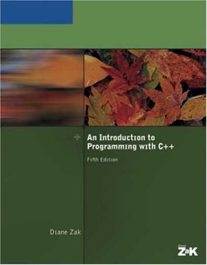 Programming Books - An Introduction to Programming With C++