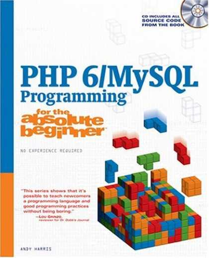 Programming Books - PHP 6/MySQL Programming for the Absolute Beginner