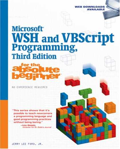 Programming Books - Microsoft WSH and VBScript Programming for the Absolute Beginner