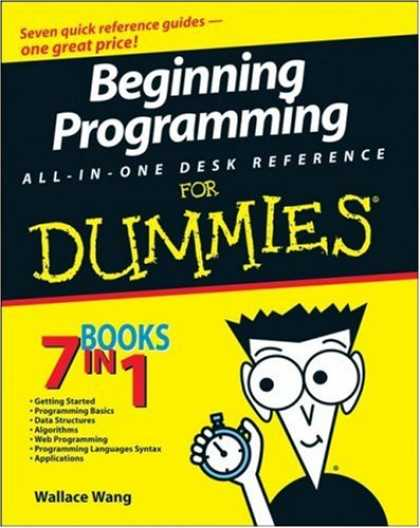 Programming Books - Beginning Programming All-In-One Desk Reference For Dummies (For Dummies (Comput