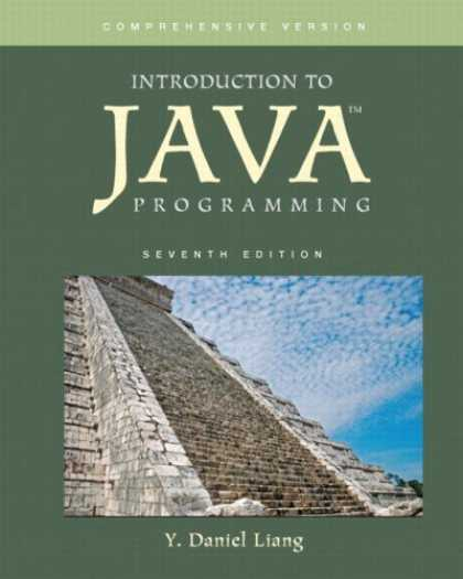 Programming Books - Introduction to Java Programming, Comprehensive Version Value Package (includes
