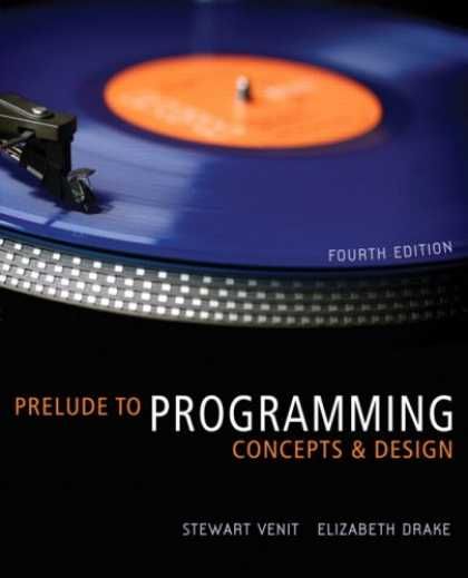 Programming Books - Prelude to Programming: Concepts and Design (4th Edition)