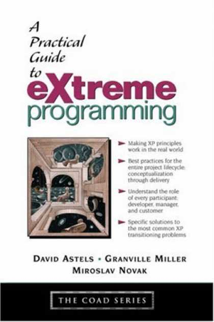 Programming Books - A Practical Guide to eXtreme Programming (Coad Series)