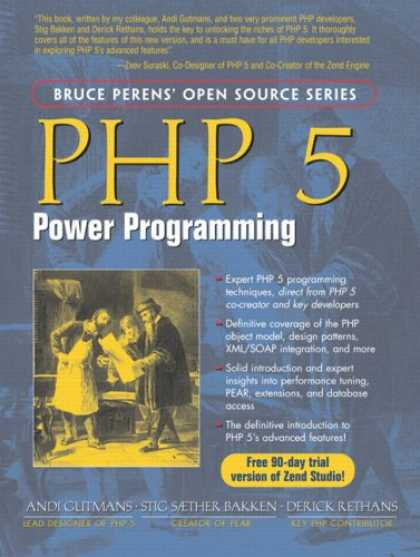 Programming Books - PHP 5 Power Programming (Bruce Perens' Open Source Series)