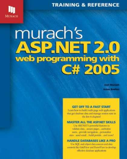 Programming Books - Murach's ASP.NET 2.0 Web Programming with C# 2005