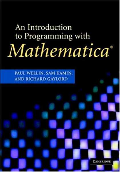 Programming Books - An Introduction to Programming with Mathematica, Third Edition