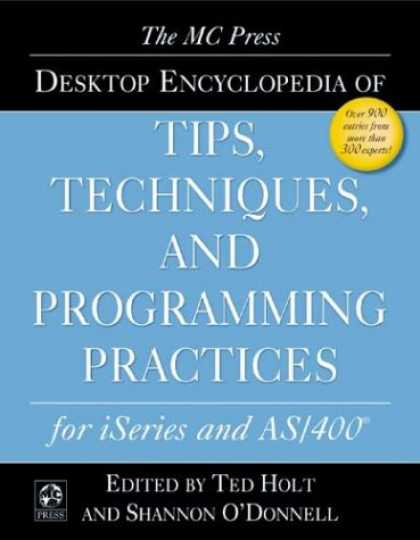 Programming Books - The MC Press Desktop Encyclopedia of Tips, Techniques, and Programming Practices