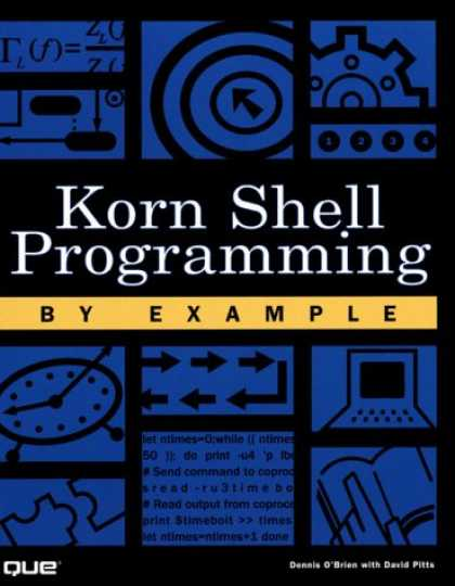 Programming Books - Korn Shell Programming by Example
