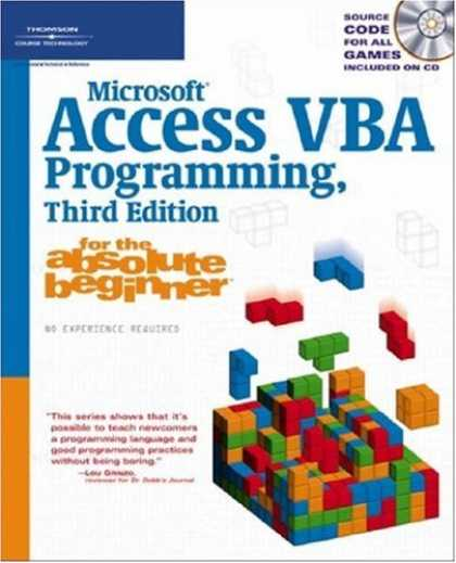 Programming Books - Microsoft Access VBA Programming for the Absolute Beginner